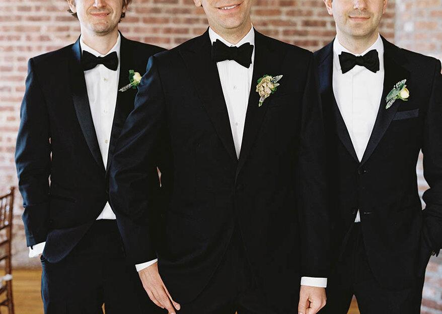 Los Damos de Honor o best men: Descubre quiénes son y cuáles son sus funciones en las bodas