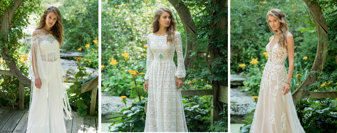 Lillian West For Fall 2018: The Best Looks For Bold Boho Brides
