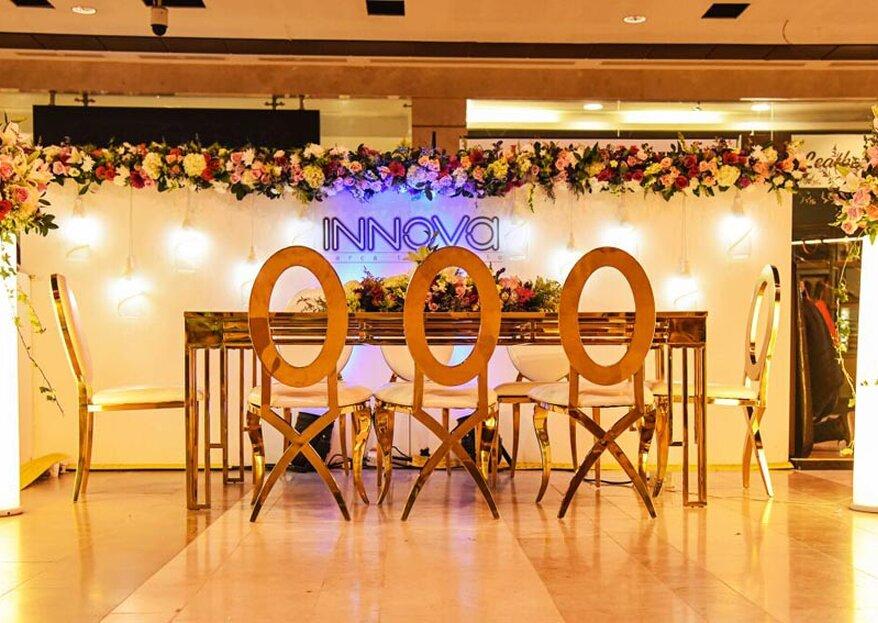 Un sueño hecho realidad con Innova Eventos y Producciones: ¡vive una boda impactante y a tu estilo!