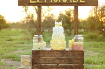 Refresca el banquete de tu boda con helados y bebidas veraniegas