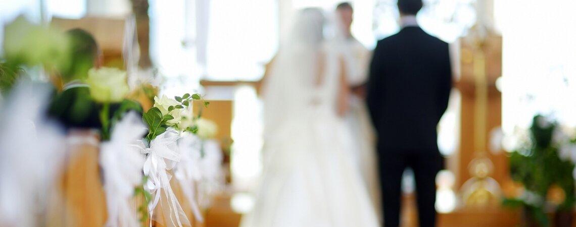 Het organiseren van een kerkelijk huwelijk in 5 stappen!