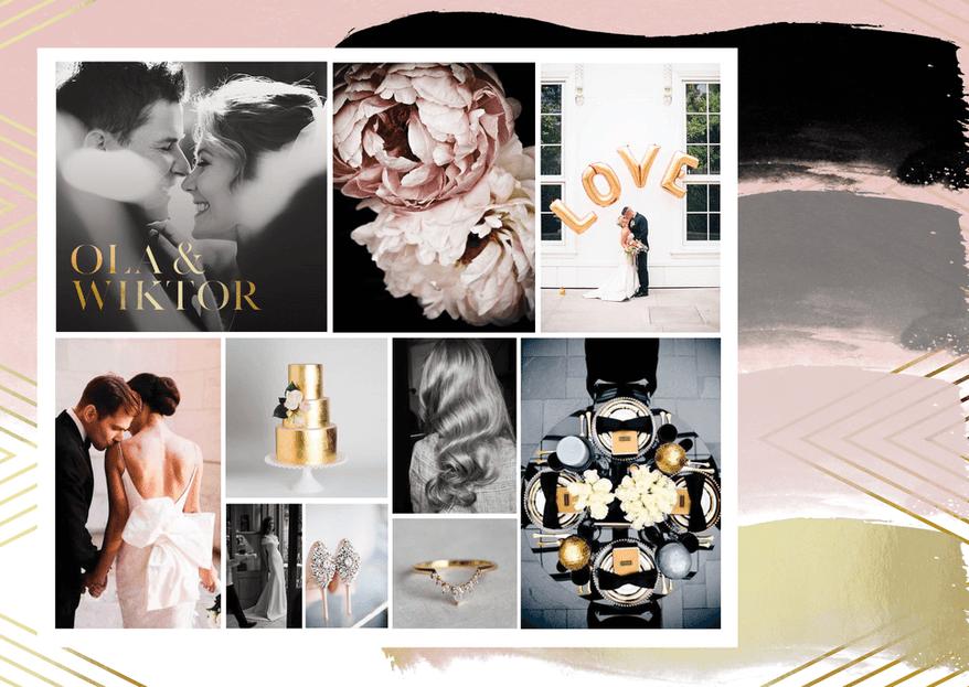 Palety kolorystyczne na ślub - zainspiruj się!