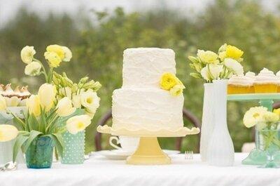 Una piccola torta... per un grande banchetto: 3 idee per risparmiare sulla wedding cake