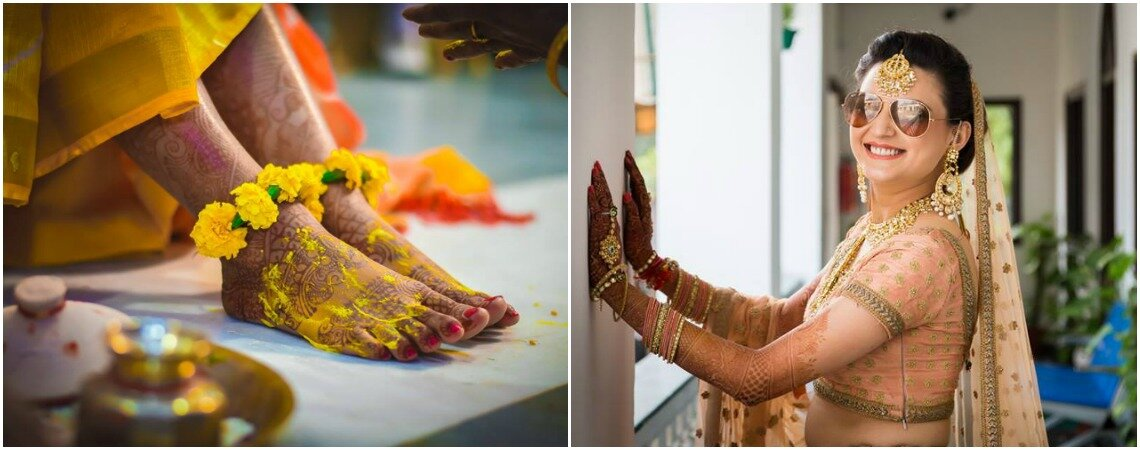 How To Get Your Glow On At Your Haldi Ceremony