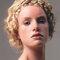 Peinado de novia con cabello corto usando extensiones