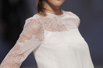 Klassische Brautkleider mit langem Arm für die herbstliche Hochzeit