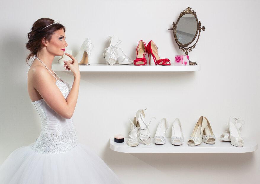 Cómo elegir los zapatos de novia para tu matrimonio: ¡acierta con tu calzado nupcial!