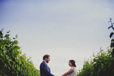 ¡El gran día de Maca y José! Un perfecto matrimonio junto a su hijo