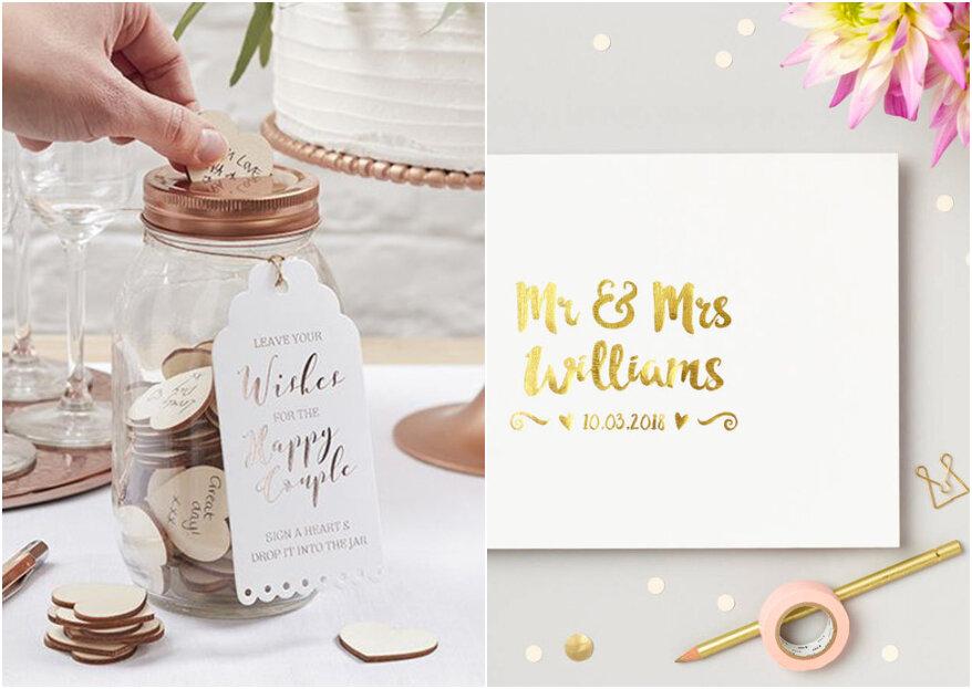Libros de firmas para la boda: no creerás todos los modelos que hay