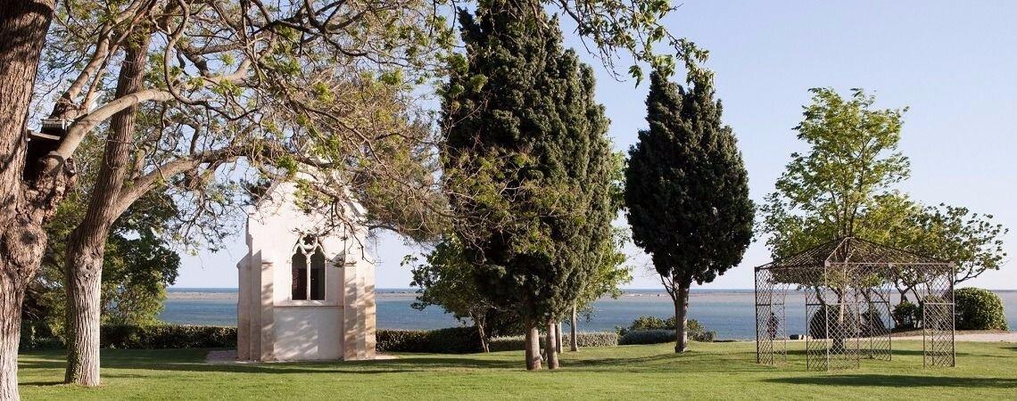 Le Domaine des Moures : une vue imprenable sur la mer et une salle de caractère proche de Montpellier