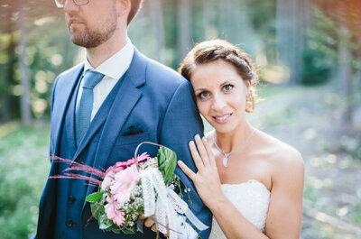 Bezaubernde Hochzeit in Kärnten: so heirateten Stefanie und Andreas!