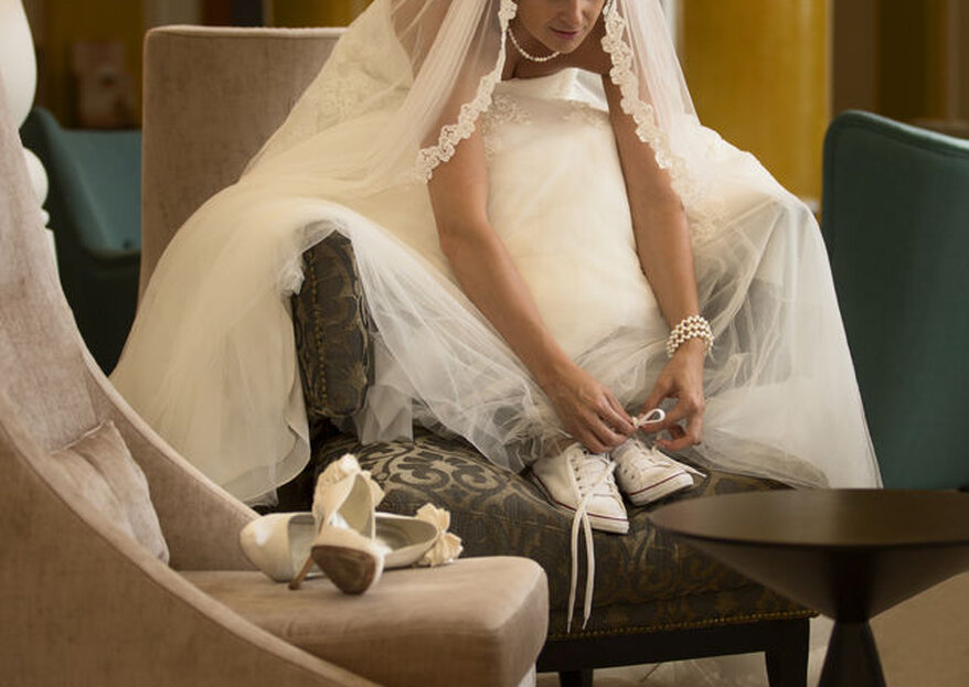 Wie man die passenden Brautschuhe für die Hochzeit auswählt - In 5 Schritten zum Brautschuh Ihrer Träume