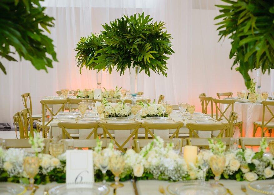 Todo lo que necesitas para tu boda en Santa Marta: Manteles y Cristales por Juan José Vela