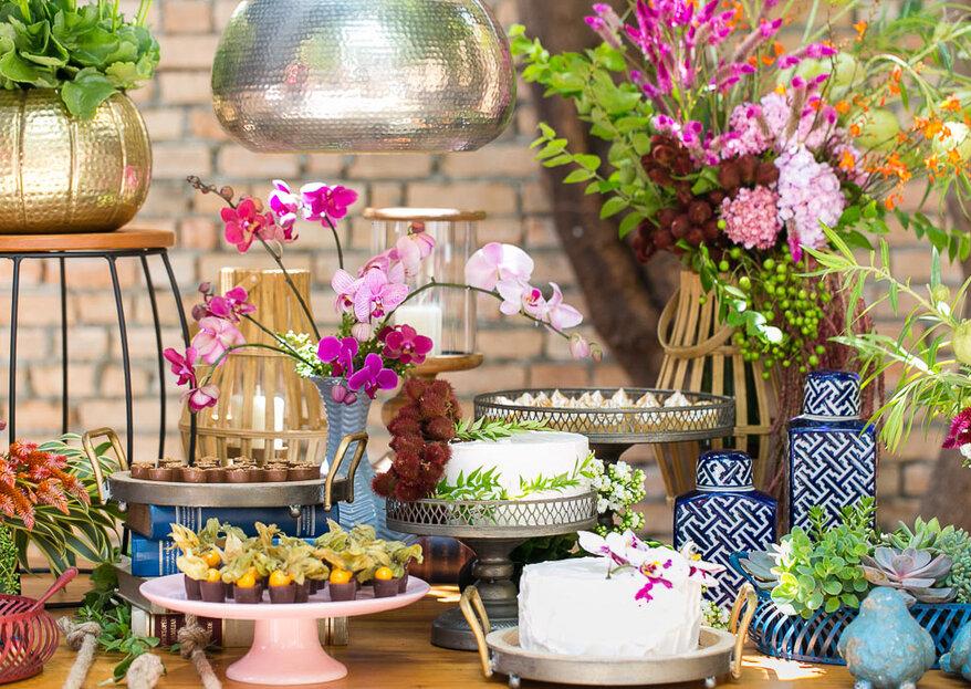 Florèe Decor: decorações personalizadas e repletas de poesia, doçura e leveza que emocionam e marcam a história dos noivos