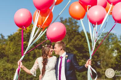 Welches Farbthema wählt man für seine Hochzeitsdekoration?