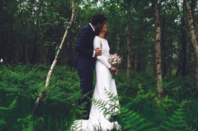 Un año de preparativos en la distancia: la boda de Marta y Leandro