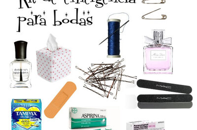 Un detalle de 10: Regala kits de emergencia a tus invitados