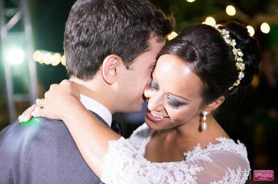Fernanda & Guilherme: casamento ao ar livre bucólico e romântico em Minas Gerais