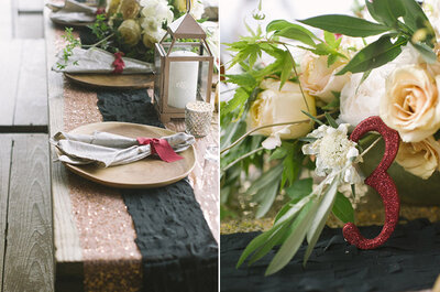 Los colores del boho chic y una historia de amor: Una Real Wedding para recordar