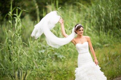 10 pruebas convincentes para saber que has encontrado el vestido de novia de tus sueños