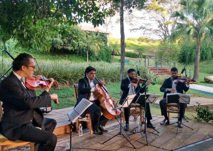 Summer Orchestra: Trilha sonora personalizada para marcar para sempre a sua troca de alianças!