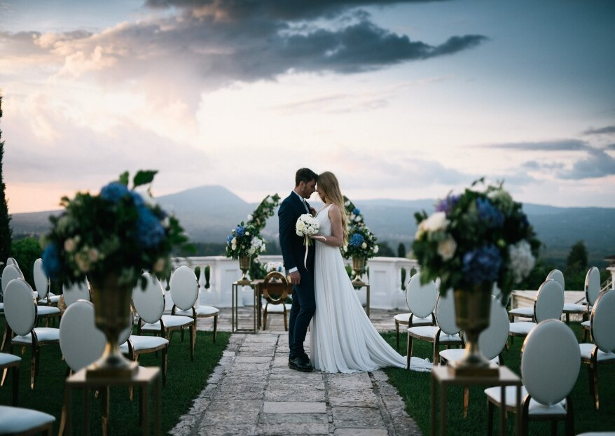 """""""Experience your day as a spectacular event"""": this is the motto of Erika Morgera Wedding Planner"""