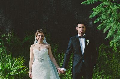 El bulldog francés más hermoso: La boda de Tatiana y Alejandro te conquistará ¡de principio a fin!