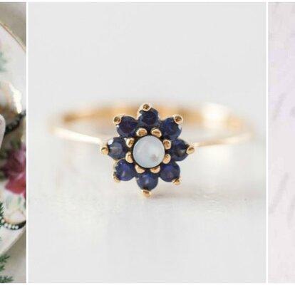 498aca48b666a9 Wybierz pierścionek zaręczynowy w stylu vintage. Przepiękna stylowa  biżuteria! Wszystkie te modele są unikatowe. Na pewno Cię zainspirują.
