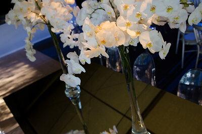 Decoración con flores para bodas de Sally L. Hambleton