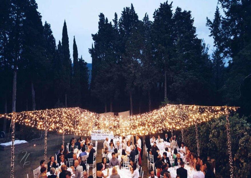 """""""Sotto il sole della Toscana""""... la magia del vostro matrimonio indimenticabile con Nora Event Designer"""
