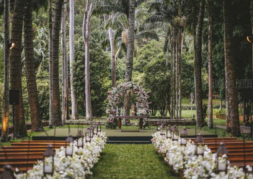 Fazenda Vila Rica: perfeita para quem sonha com um maravilhoso destination wedding em meio à natureza!