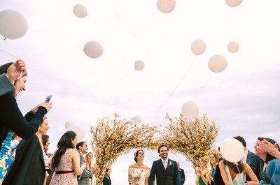Protocolos de entrada na cerimônia religiosa: todos os segredos para brilhar no seu casamento!