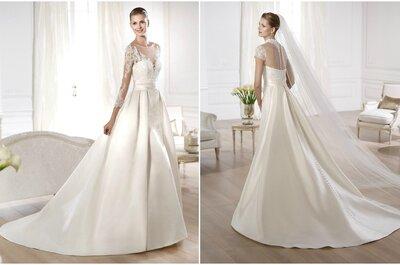 2 looks em 1: conforto e glamour em um único vestido de noiva