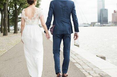 Trouwen in de jurk van jouw dromen: het kan met iek´s trouwjurken