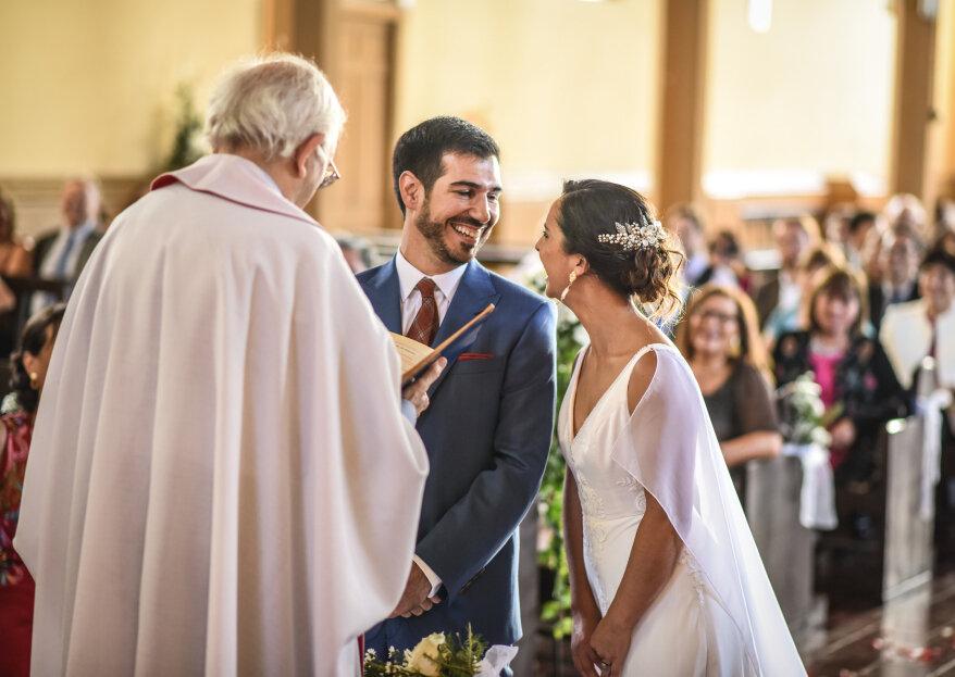 ¿Qué documentos necesito para un matrimonio religioso?