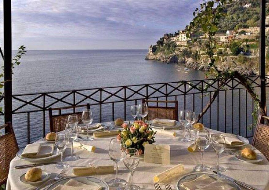 Hotel Marmorata: voi e il mare, protagonisti di un matrimonio dal gusto mediterraneo...