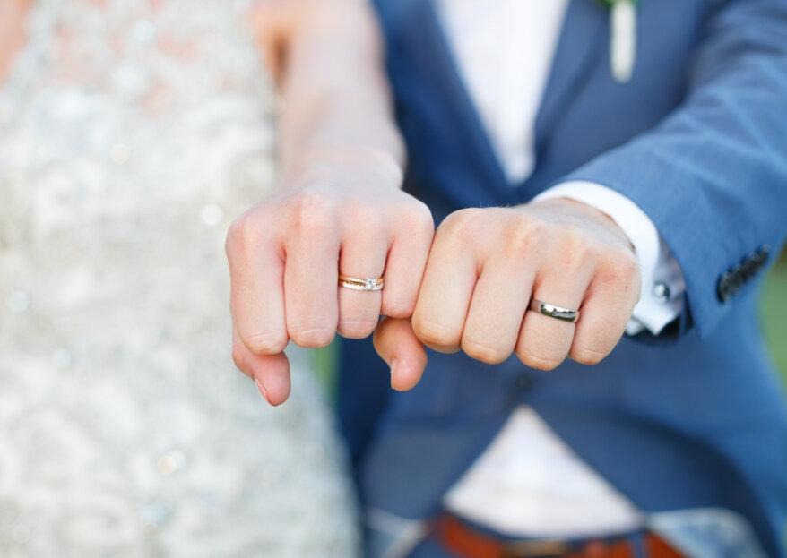 Alianças originais para noivos diferentes: 13 opções únicas