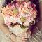 Un bouquet de mariée aux couleurs surprenantes