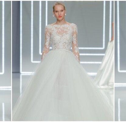 f7d9f5ad3d Sorpréndete con la colección de Rosa Clará 2017  vestidos de novia con  detalles perfectos para nuestro día soñado