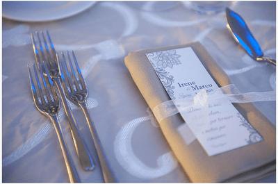 I 5 design del menù che vorrai per le tue nozze