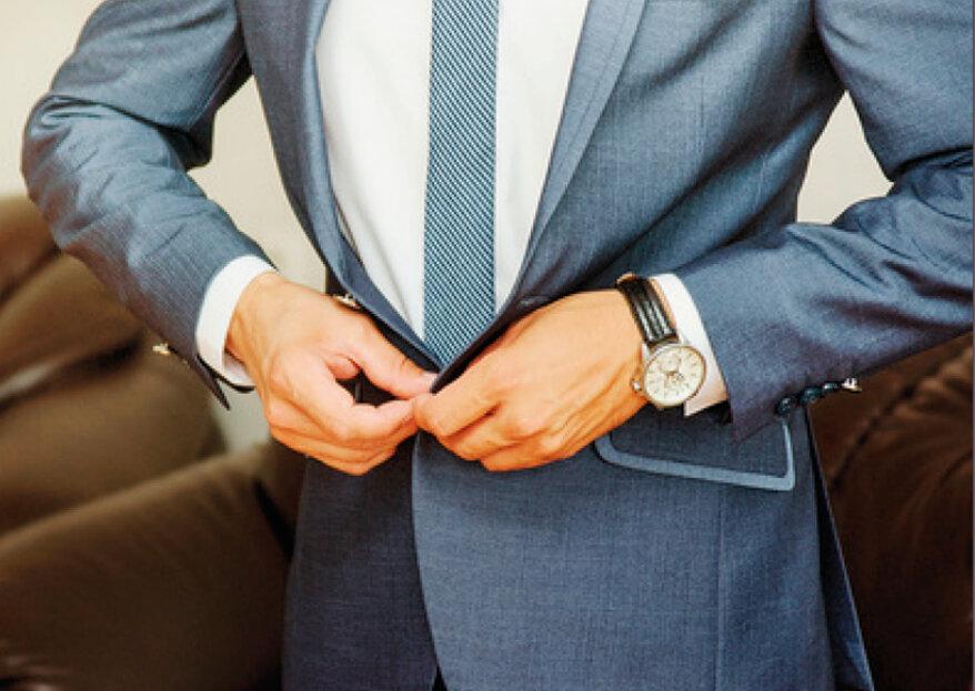 REALE Alfaiataria: camisas, calças, ternos, fraques e acessórios confeccionados sob medida com muita sofisticação e exclusividade.