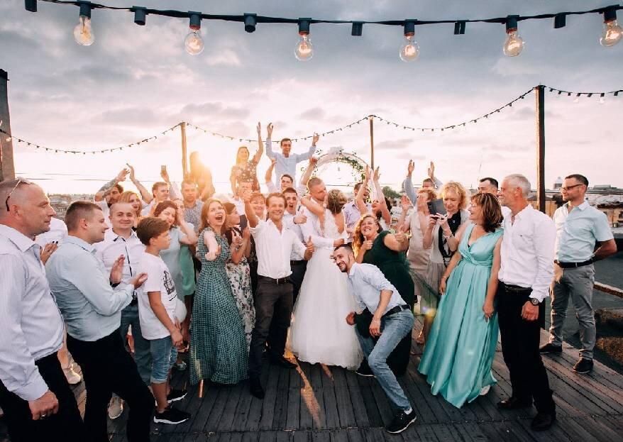 Концептуальная свадьба Ирины и Дмитрия от Студии Счастливых Событий