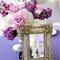 Décoration de mariage avec un miroir