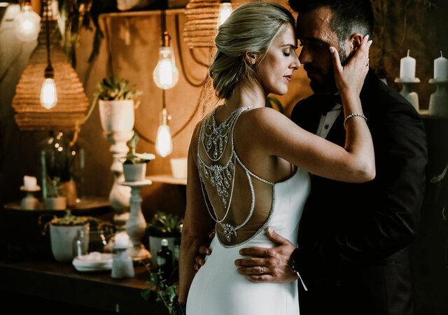 Decoração perfeita para um casamento rústico