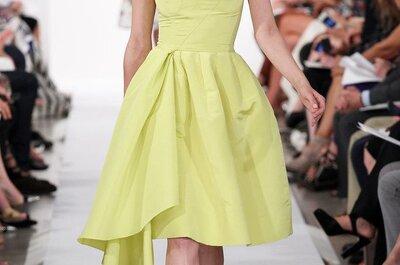 Inspire-se nas composições cheias de cores de Oscar de la Renta na New York Fashion Week 2015