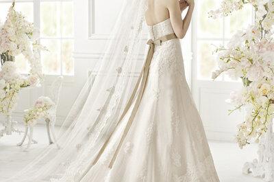 Les impressionants décolletés dans le dos de la Collection 2015 de robes de mariée San Patrick