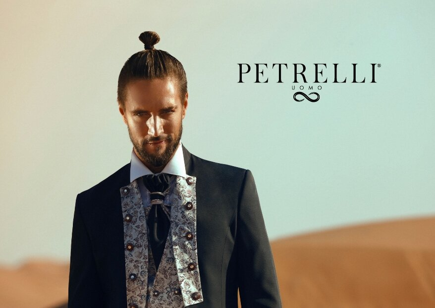 L'alta sartoria a servizio dello sposo: l'abito perfetto da Petrelli Uomo