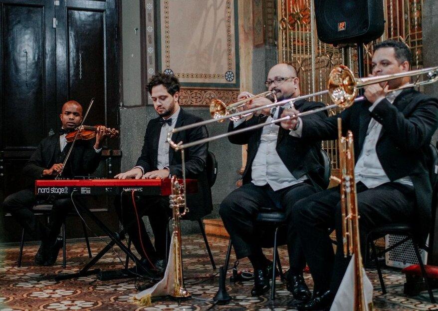 Seravalli Music: produções musicais que superam expectativas para todos os momentos do seu casamento
