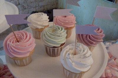 Scegli i cupcakes come originale alternativa alla torta di nozze!
