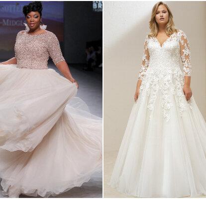 diseño elegante entrega gratis marca famosa 50 vestidos de novia talla grande 2019: ¡los últimos diseños ...